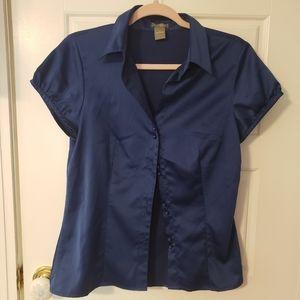 Ann Tayler satin blouse